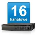 16-Kanałowe AHD/TVI/CVI/PAL