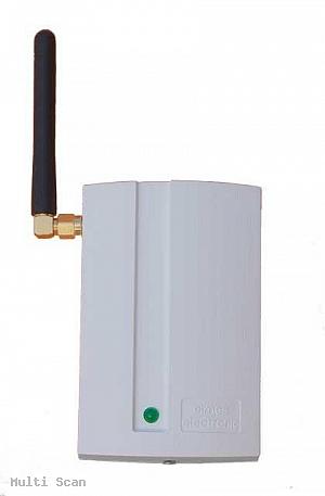 GSM2/GSM2000 Uniwersalny moduł powiadomienia i zdalnego sterowania ELMES z Anteną