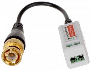 TR-1D Pasywny jednokanałowy nadajnik/odbiornik sygnału wizyjnego  HD-CVI, HD-TVI, AHD, ANALOG 5Mpx