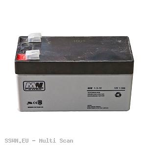 Akumulator żelowy 12V 1.3Ah MW Power
