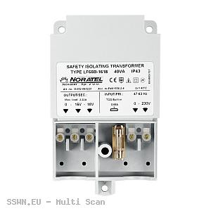 Transformator TR 40 VA 230V/18V AC do obudowy OPU-3 P i OPU-4 P, 40VA Satel