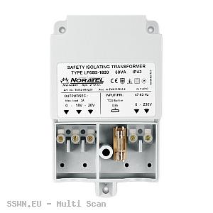 Transformator TR 60 VA 230V/20V AC do obudowy OPU-3 P i OPU-4 P, 60VA Satel