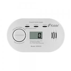 Czujnik Czadu Tlenku Węgla z wyświetlaczem LCD 5DCO Kidde