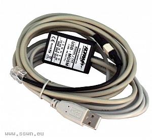 USB-MGSM - Kabel do programowania modułów MGSM ROPAM