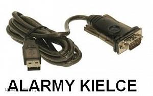 PRZEJŚCIÓWKA KONWERTER USB NA RS-232 SATEL