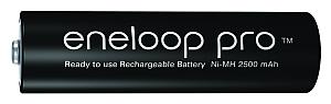 Baterie akumulatorki Panasonic Eneloop PRO R6 AA 2550mAh BK-3HCDE