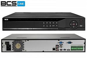 Rejestrator sieciowy IP BCS-NVR32045ME 32-kanałowy 5MPx BCS