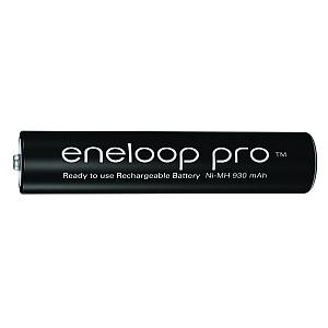 Baterie akumulatorki Panasonic Eneloop PRO R03 AAA 950mAh BK-4HCDE