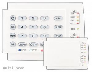 Manipulator K-10 LED V/H K10 SP65/SP4000/SP6000/Magellan (wersja pozioma i pionowa) Paradox