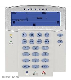 Manipulator ikonowy K-35 LCD K35 LCD SP65/SP4000/SP/6000/Spectra/Magellan Paradox